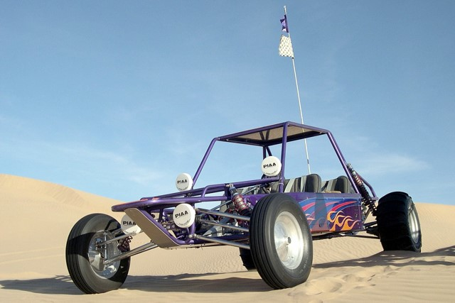 Custom 4-seater long-travel dune buggy for sale